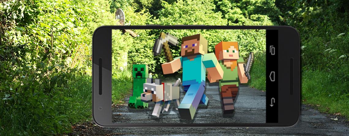 Microsoft deutet Minecraft als AR-Spiel an – Wird es wie Pokémon GO?