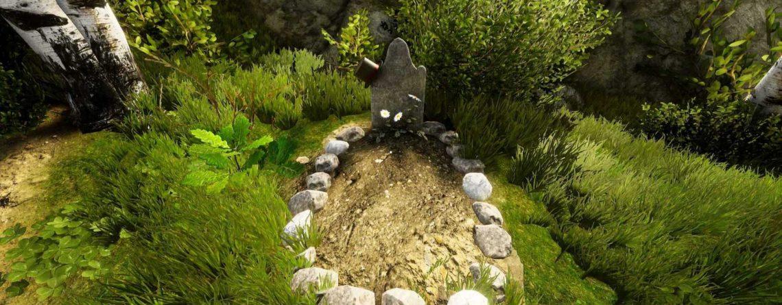 In Mordhau steht ein Grabstein mit Zylinder – Tribut an YouTube-Legende
