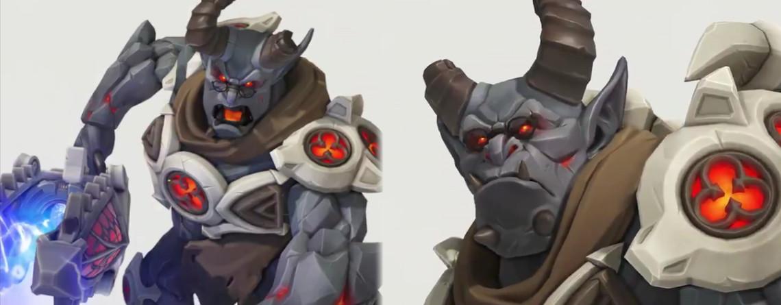 Overwatch: Schaut Euch hier den finstersten Skin für Winston an