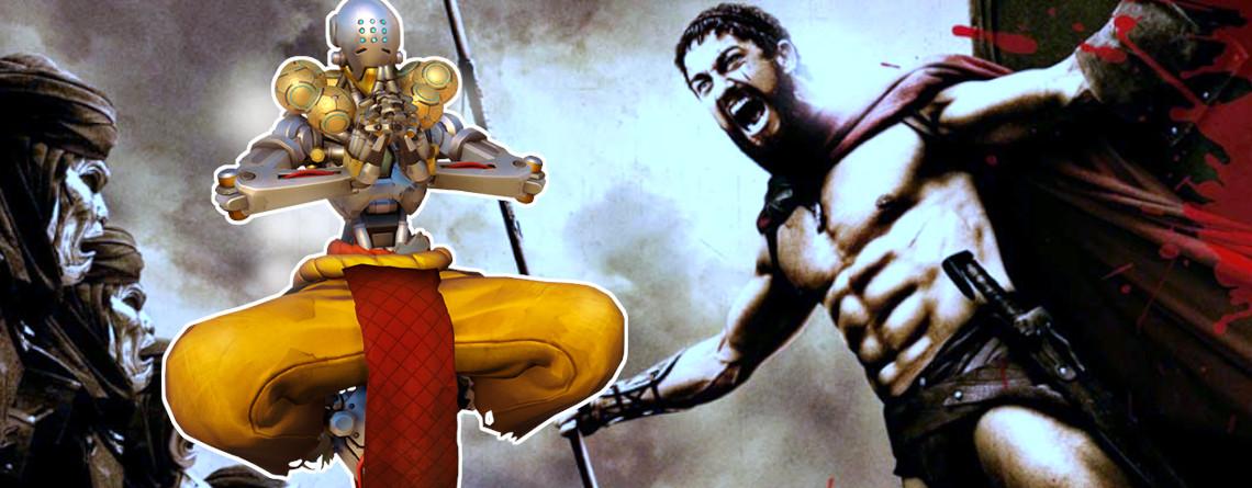 """Im """"Sparta-Modus"""" von Overwatch müsst ihr eure Feinde in einen Brunnen treten"""