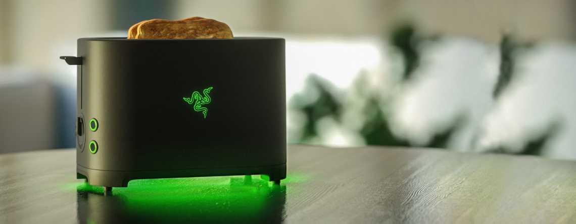 Razer baut einen Toaster mit Kultpotential – Auf Drängen der Fans