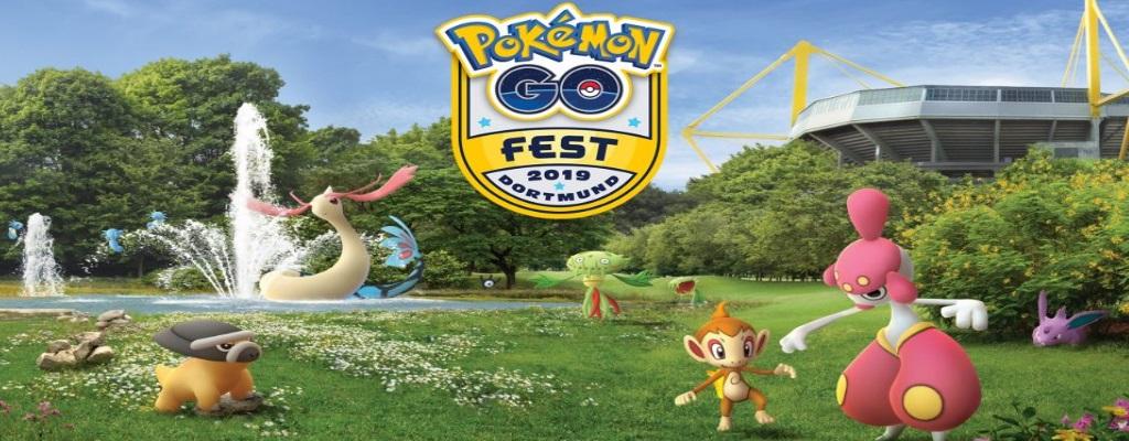 Diese Pokémon zeigt Pokémon GO für das GO Fest in Dortmund