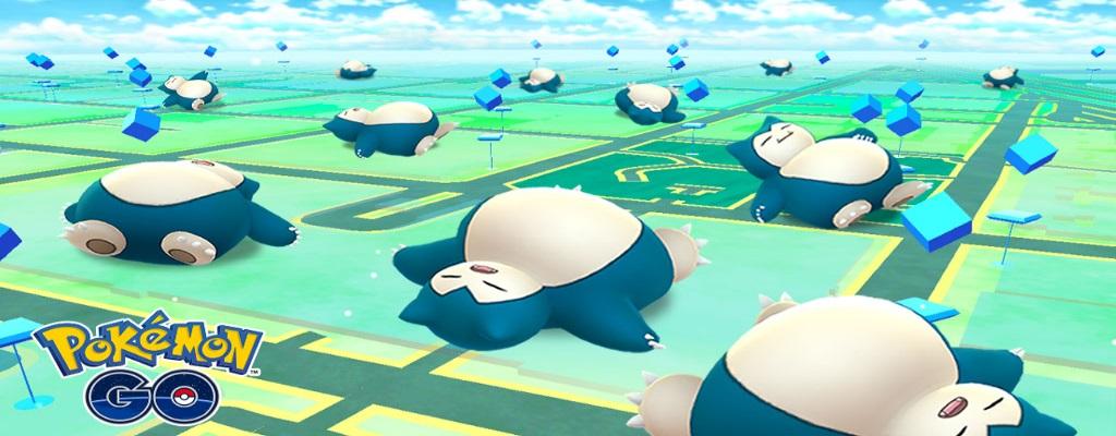 Relaxo ist überall in Pokémon GO – Wer ein 25-€-Gadget hat, fängt es garantiert und schnell
