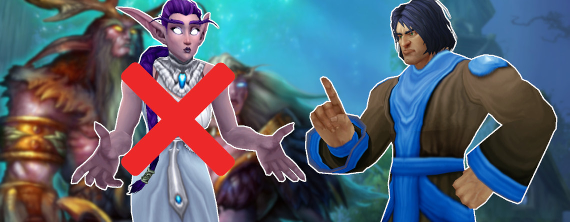 Warum Warcraft eigentlich gar keine Nachtelfen haben sollte