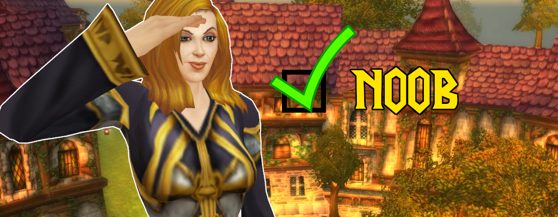 WoW Noob Checkbox Mage Female title 1140x445
