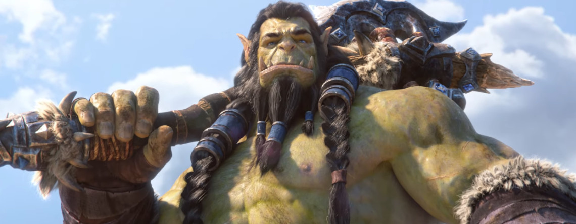 WoW Thrall Cinematic title 1140×445