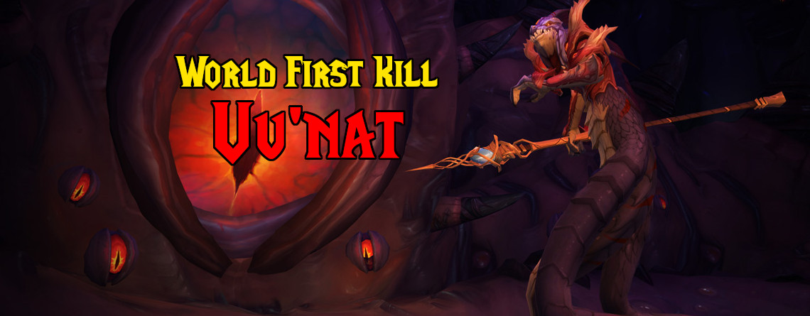 WoW: Der World First Kill von Uu'nat geht an die Gilde Pieces