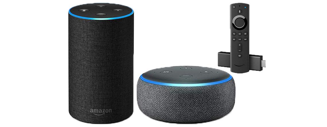 Echo, Dot und Fire TV Stick reduziert – Amazon Geräte im Angebot