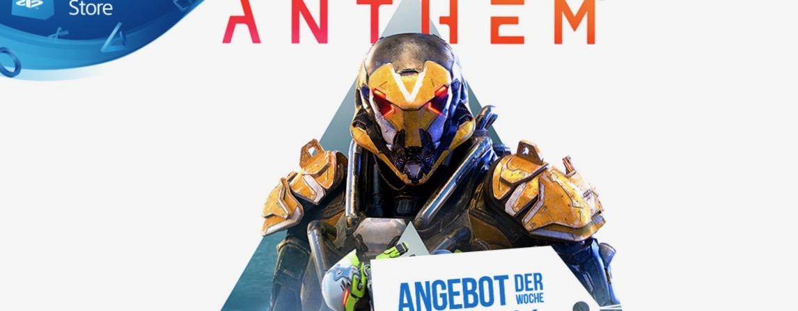 PS Store: Neues Angebot der Woche vom 08.05. – Anthem bis zu 44 % günstiger