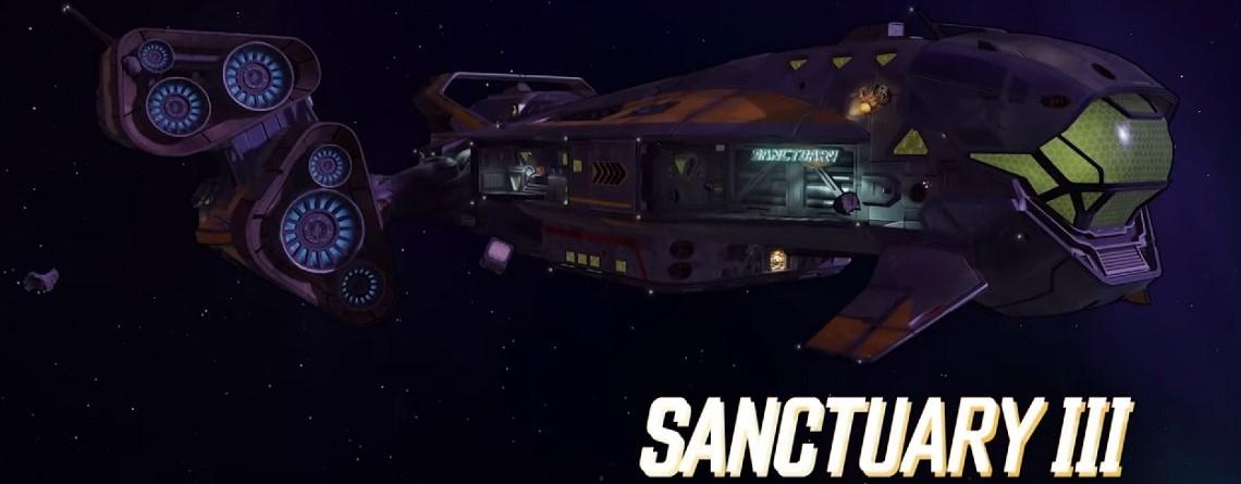 In Borderlands 3 ist euer HUB ein Raumschiff, mit dem ihr Welten besucht