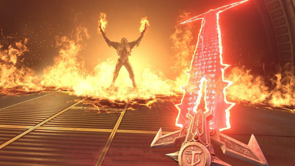Doom Eternal Crucible Blade
