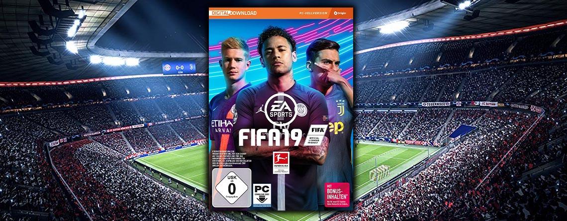 FIFA 19 für PC jetzt so günstig wie nie zuvor sichern