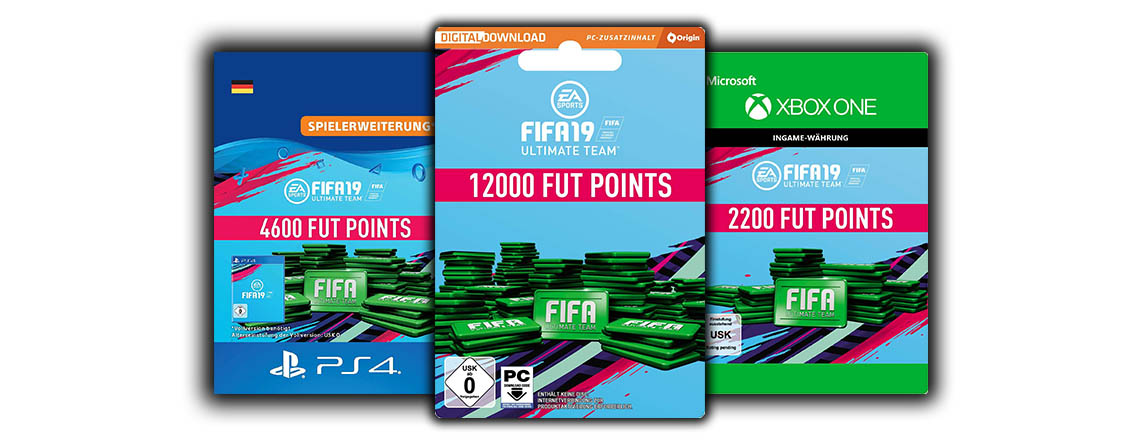FIFA Points für FIFA 19 jetzt bei Amazon günstiger kaufen