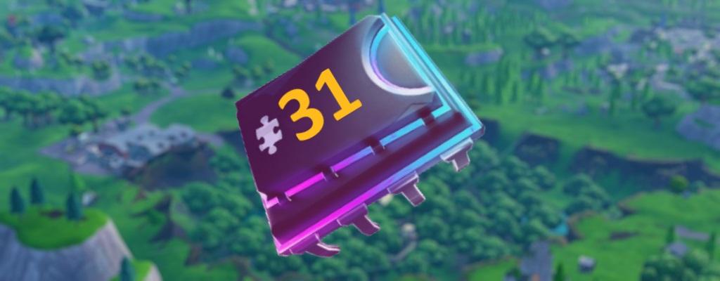 Fortnite: Fortbyte #31 –Aussichtspunkt eines Meteoritenkraters
