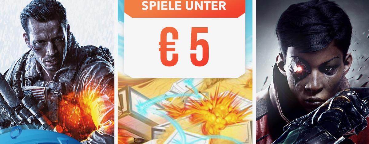 PS Store Angebot: Diese PS4-Spiele gibt's aktuell für weniger als 5 €