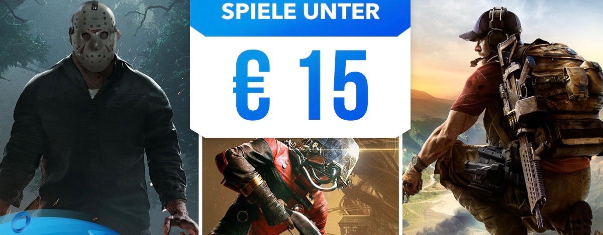 """PS Store startet neuen """"Spiele unter 15 €""""-Sale – Das sind die Highlights für Eure PS4"""