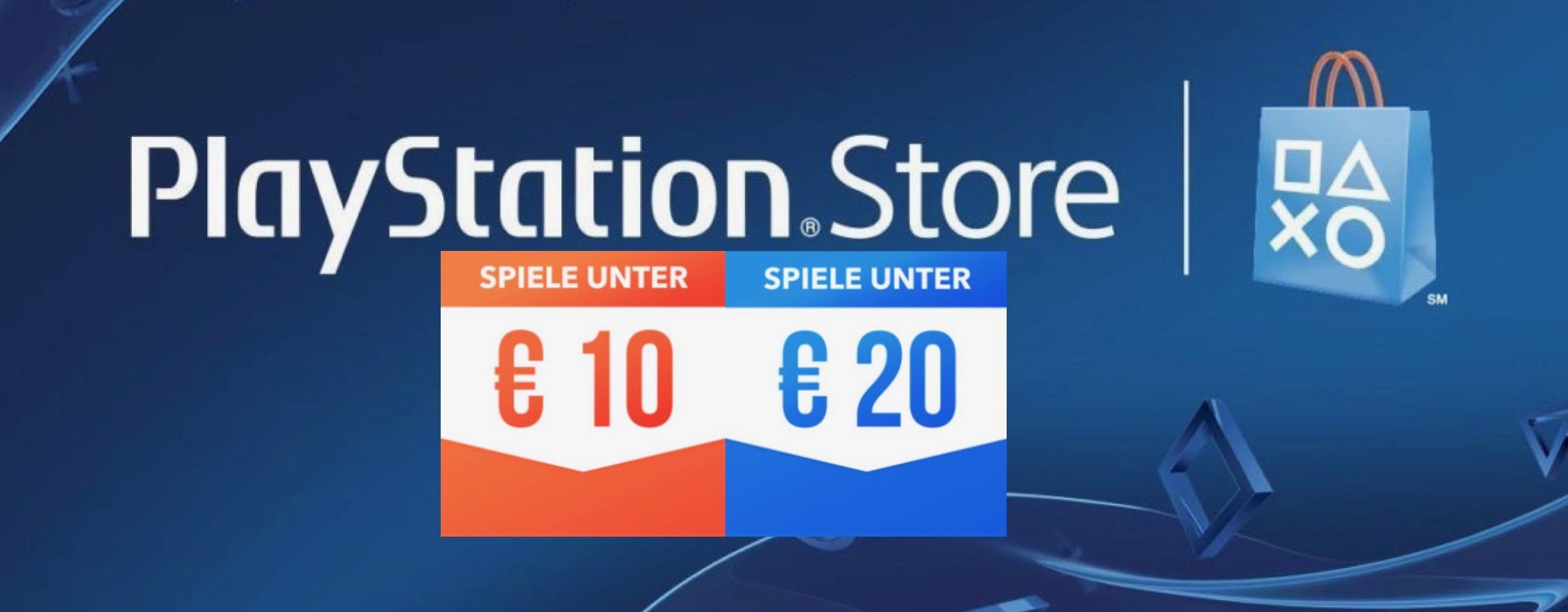 PS Store: Neue Sales locken mit vielen Spielen unter 20€ – Die Highlights für Eure PS4