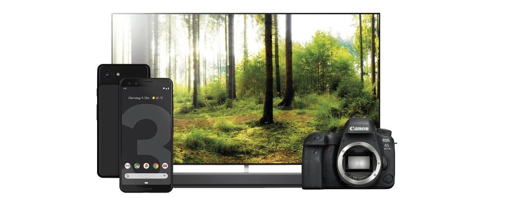 Saturn-Angebote: Pixel 3 & LG OLED-TV mit Bestpreis, Kameras reduziert