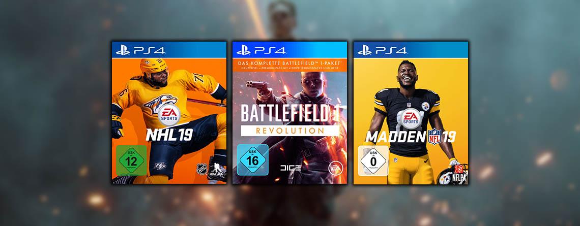 Battlefield 1 und Sport-Spiele im Angebot bei Saturn