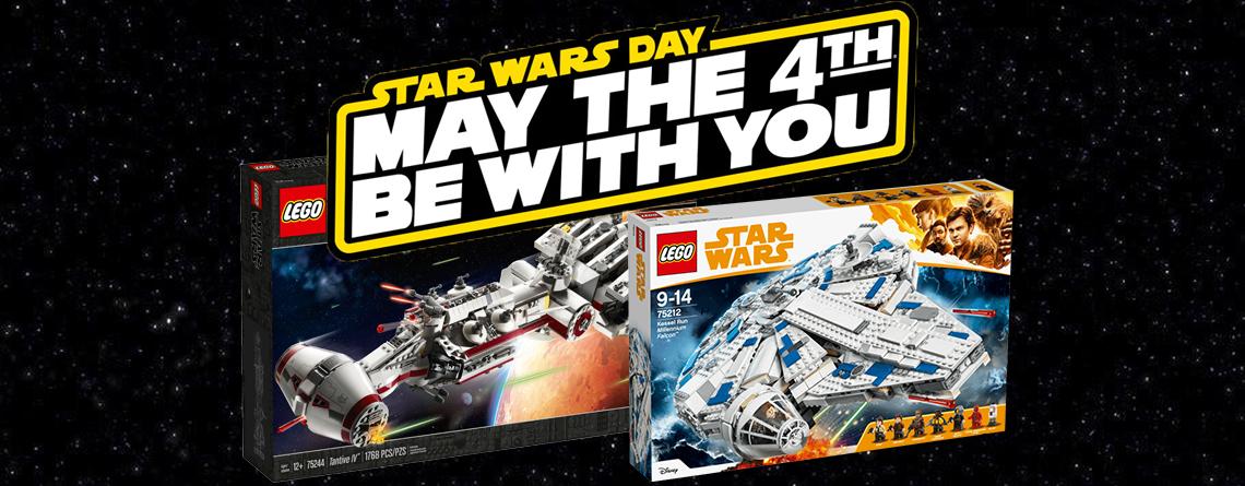 LEGO Shop mit Angeboten zum Star Wars Wochenende