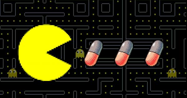 gaming-sucht pacman pillen