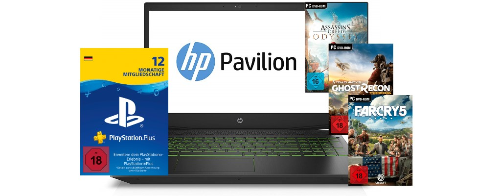 PS Plus, PC-Spiele und günstiger Gaming-Laptop bei Amazon im Angebot