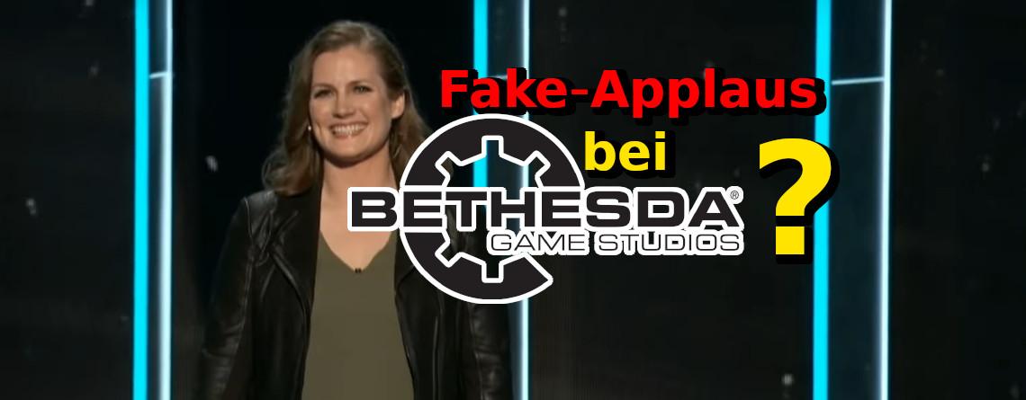 E3 2019: Manche werfen Bethesda vor, sie hätten beim Applaus geschummelt