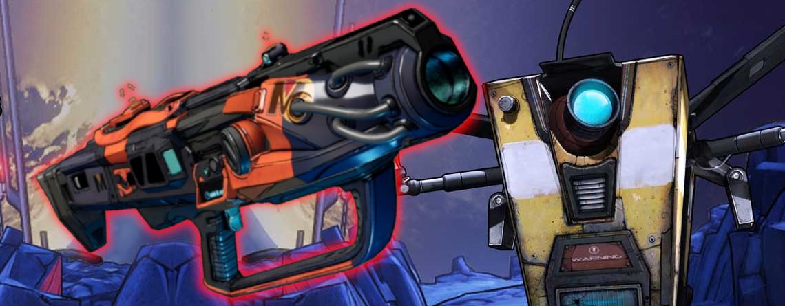 Die Waffe Trevonator in Borderlands 3 ist nach todkrankem Spieler benannt