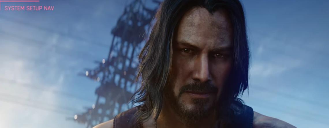 Superstar Keanu Reeves spielt in Cyberpunk 2077 eine wichtige Rolle