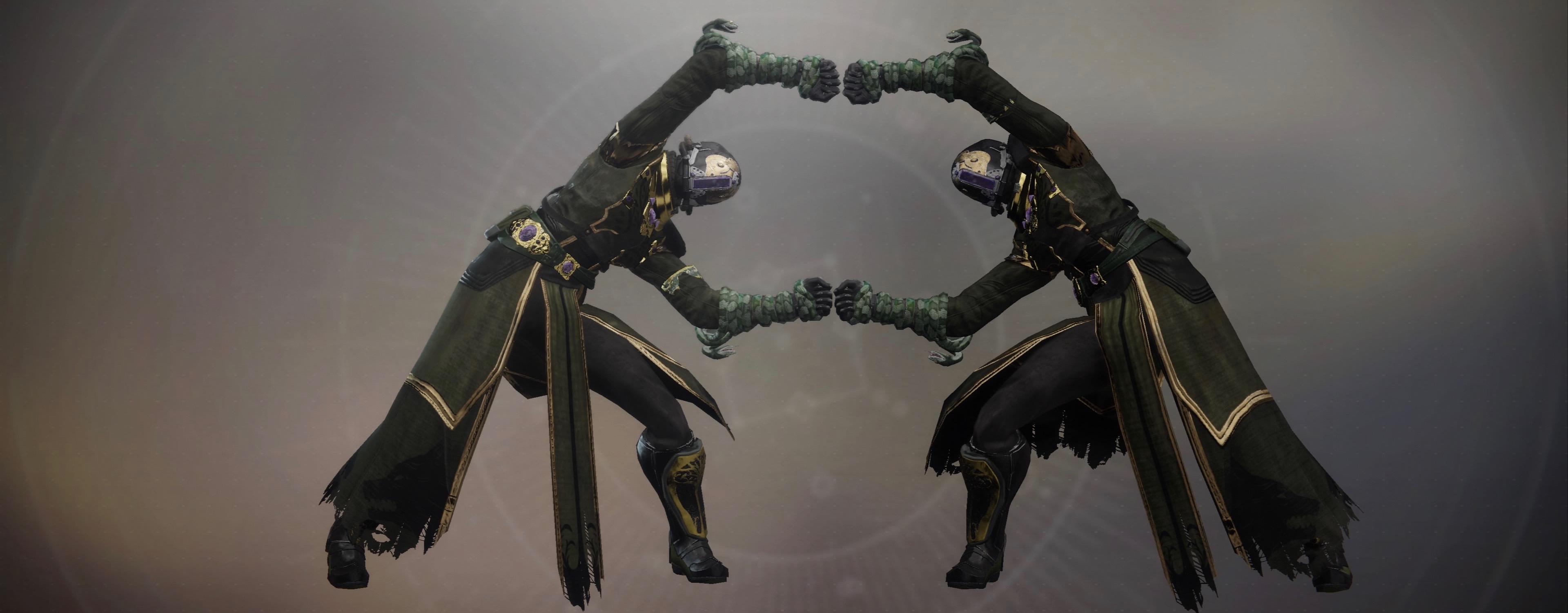 Dieses coole Emote aus Dragon Ball Z wird in Destiny 2 grad gefeiert