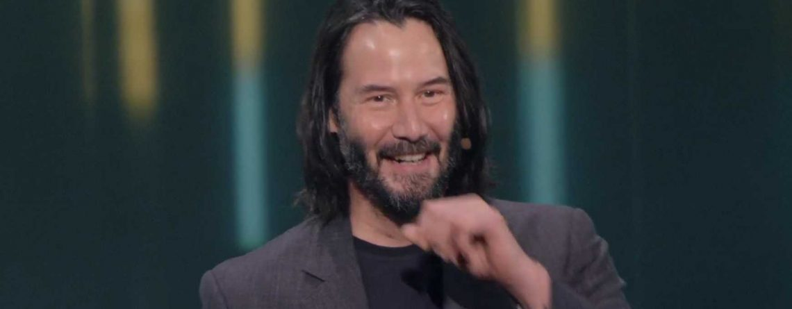 Xbox-Chef erzählt: Keanu Reeves war überwältigt von Reaktion des E3-Publikums