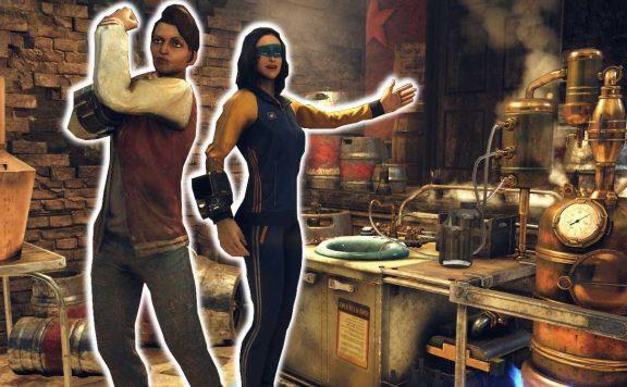 Fallout 76 zwei Frauen brauen Bier Titel Highlight 2