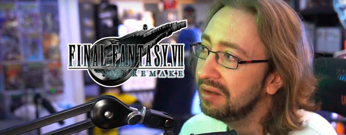 YouTuber zu Tränen gerührt, als er erfährt, welchen Einfluss er auf Final Fantasy VII Remake hat