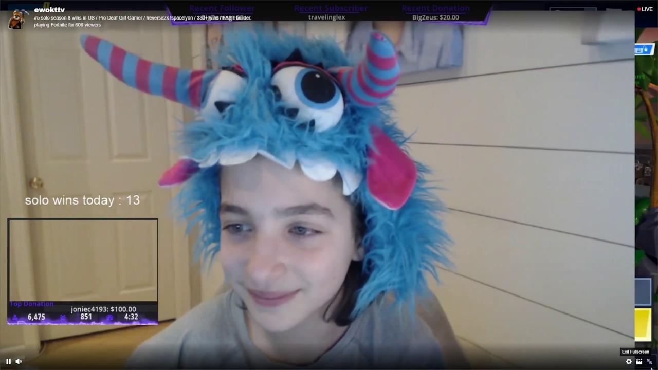 Fortnite: Twitch-Stars und Experte schwärmen von gehörlosem Mädchen (13)