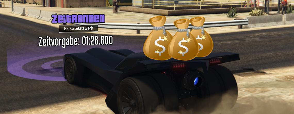 Holt euch in GTA Online jetzt 101.000 $ in knapp 1 Minute