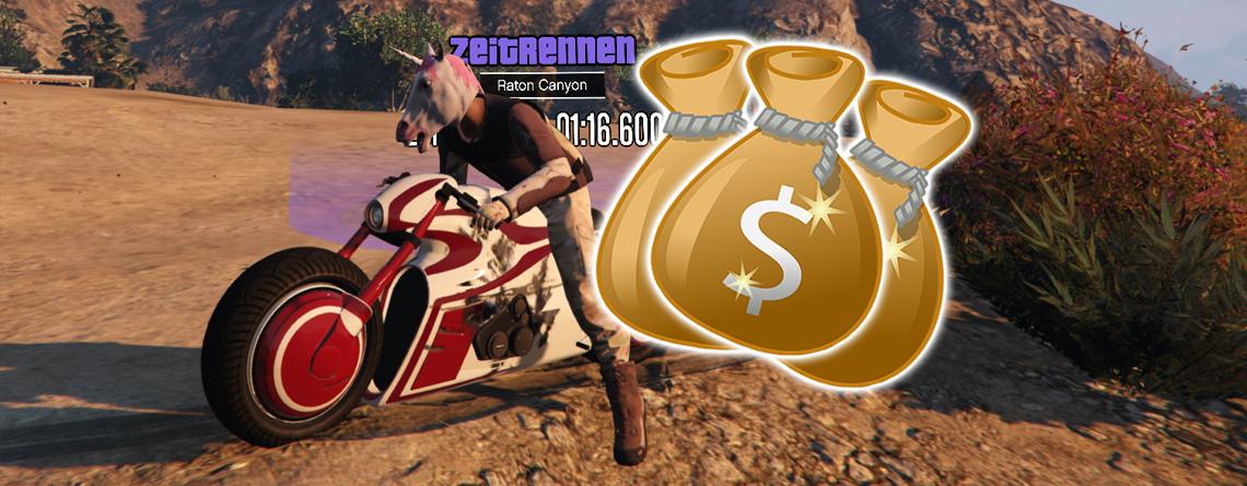 Schnappt euch diese Woche 101.000 $ in knapp 1 Minute bei GTA Online – So geht's