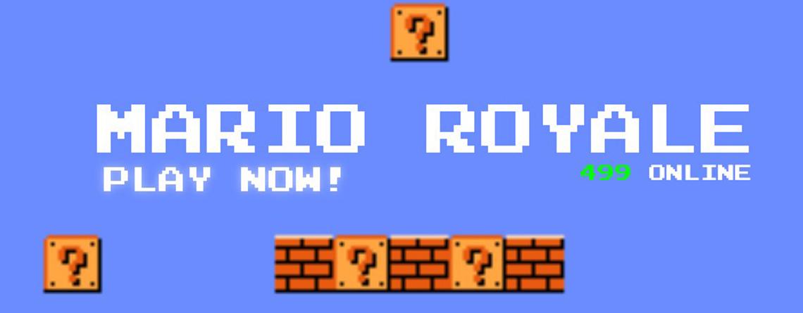 Jemand hat Super Mario in ein Battle Royale verwandelt – So spielt Ihr sofort mit