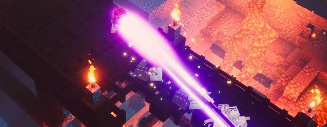 Minecraft Dungeons sieht aus wie ein Mix aus Minecraft und Diablo