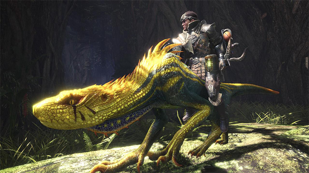 Monster Hunter World: Iceborne bringt Mounts und es sind kleine Monster