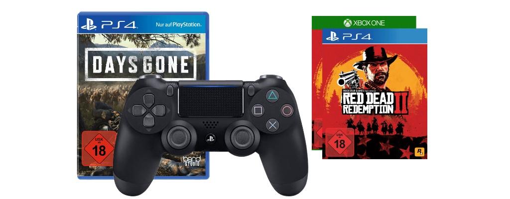 Saturn: PS4-Controller mit Days Gone reduziert & Red Dead Redemption 2