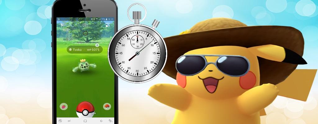 In Pokémon GO fangt ihr Monster jetzt noch schneller, wenn ihr nur einen Knopf drückt