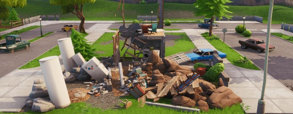 Nächste Haus in Fortnite zerstört – Was passiert gerade auf der Map?