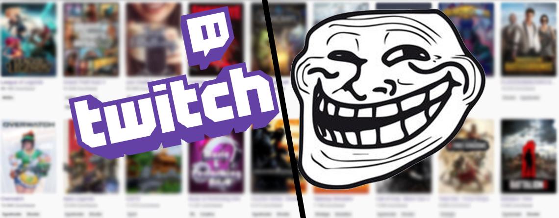 Twitch verklagt jetzt seine schlimmsten Trolle