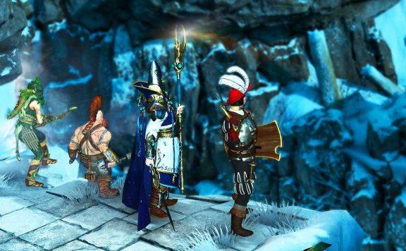 Warhammer CHaosbane Spieler vor einer Brücke Titel