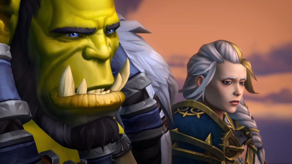 WoW Thrall Jaina not so happy days 3