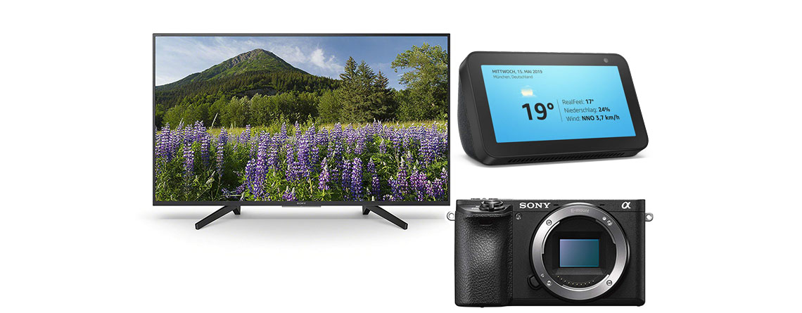 Amazon Angebote: Sony Alpha Kamera und Sony 4K TV stark reduziert