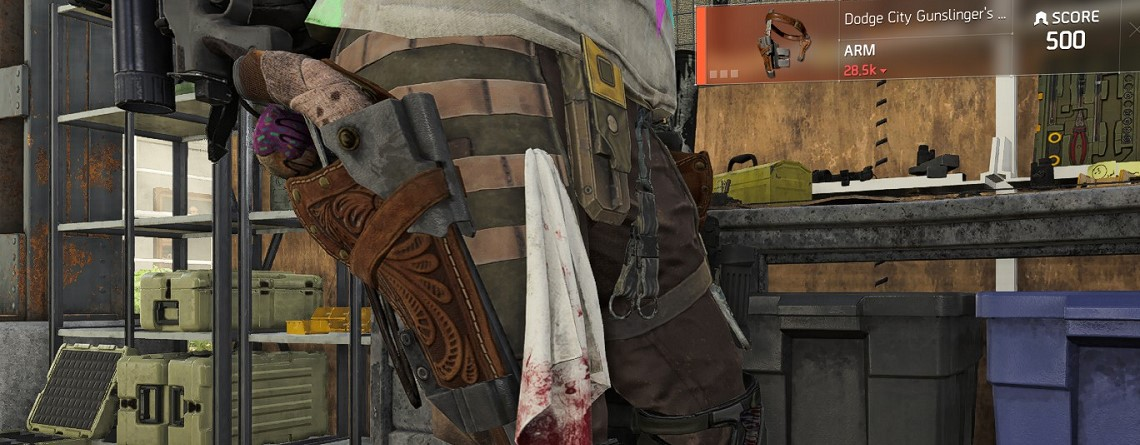 The Division 2: Wer gerne Pistolen spielt, sollte sich das neue exotische Holster anschauen