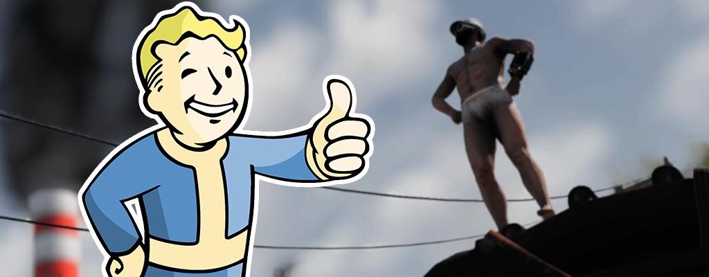 Konsequenter Rollenspieler wird Level 65 in Fallout 76 – Trägt dabei nur eine Unterhose