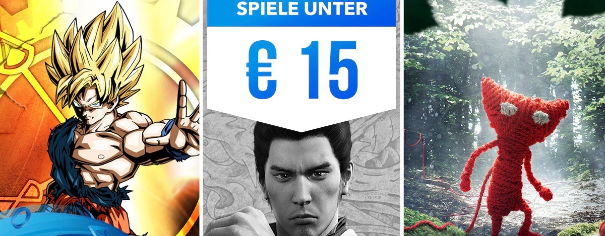 Neue PS Store Sales: Diese PS4-Games bekommt Ihr jetzt unter 15 Euro
