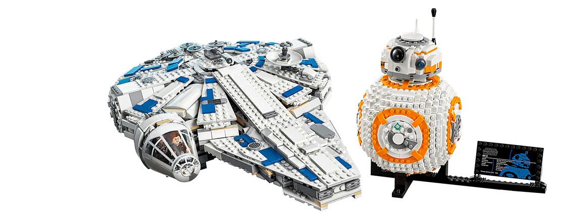 Sale im LEGO Shop: BB-8 für 70 Euro, Kessel Run Millennium Falcon für 119 Euro